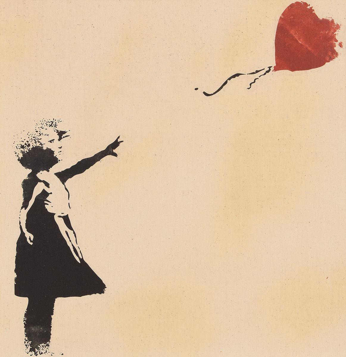 Banksy-Balloon Girl-
