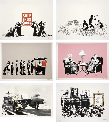 Banksy-Barely Legal-2006
