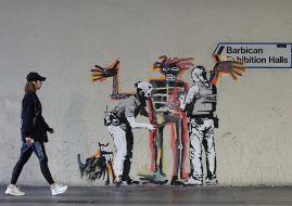 Banksy Basquiat Barbican