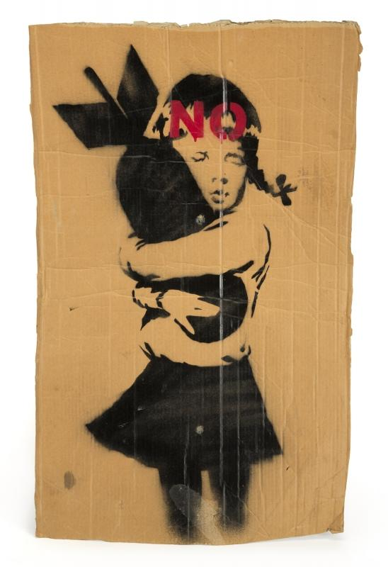 Banksy-Bomb Hugger-2003