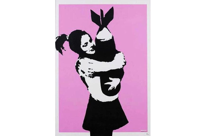 Banksy - Bomb Love, 2004