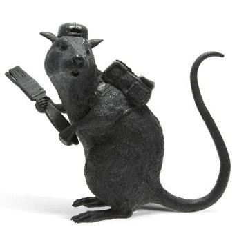 Banksy-Bronze Rat-2006
