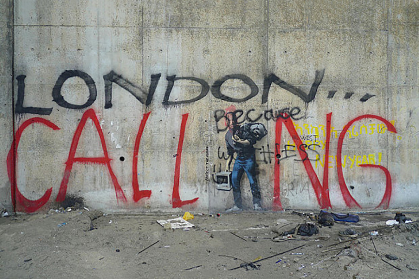calais news camp new migrant world video apple 2016 graffiti syrian home people