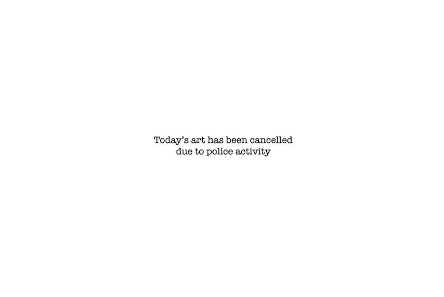 Banksy - Art cancelled