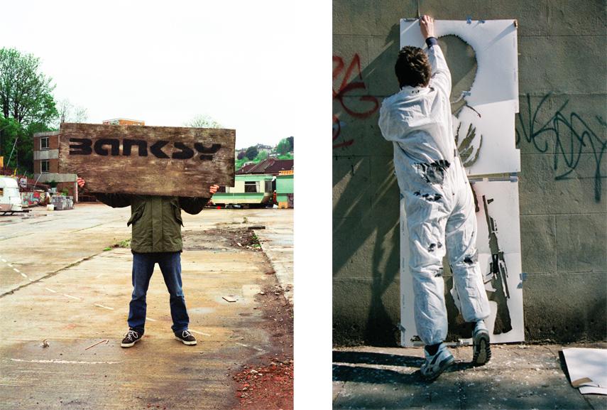 Banksy Captured by Steve Lazarides