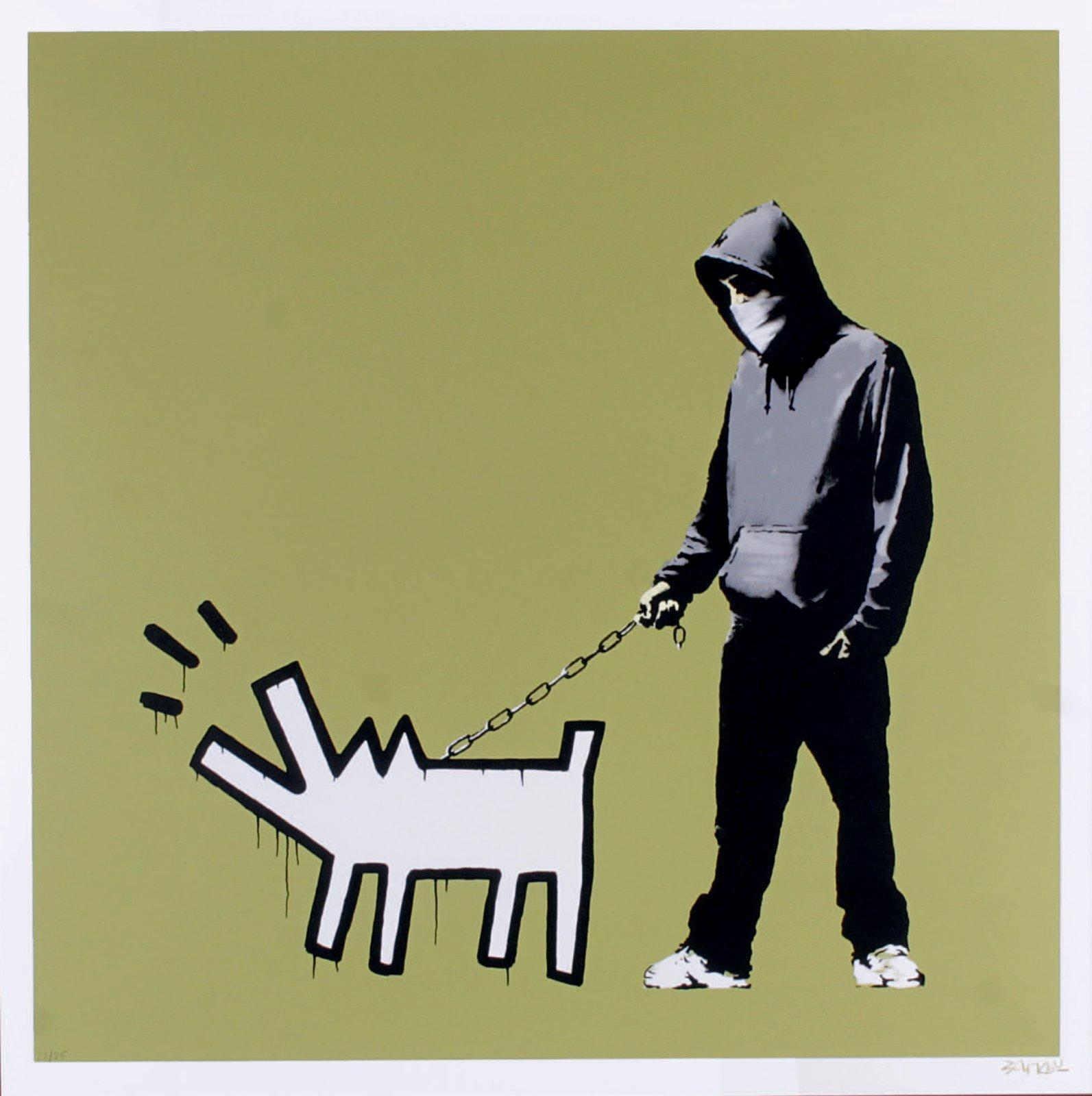 Banksy-Choose Your Weapon (Khaki)-2010