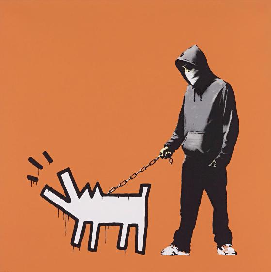 Banksy-Choose Your Weapon (Dark Orange)-2010