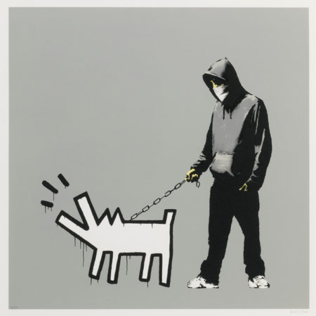 Banksy-Choose Your Weapon (Grey)-2010