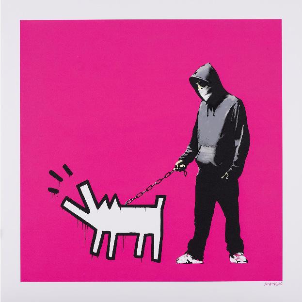 Banksy-Choose Your Weapon (Magenta)-2010