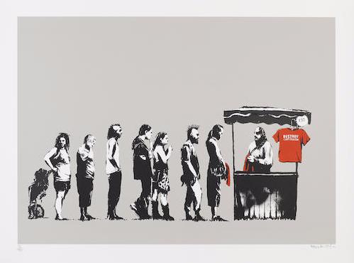 Banksy-Destroy Capitalism-2006