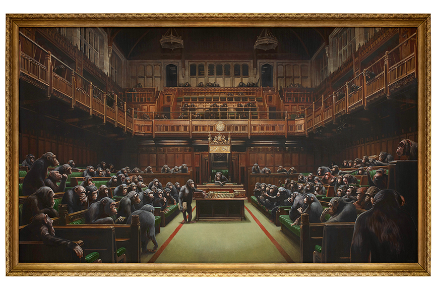 Banksy - Devolved Parliament 2009