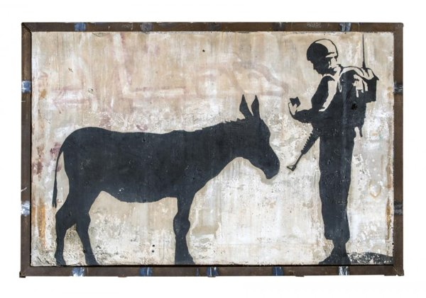 Banksy-Donkey Documents-2007