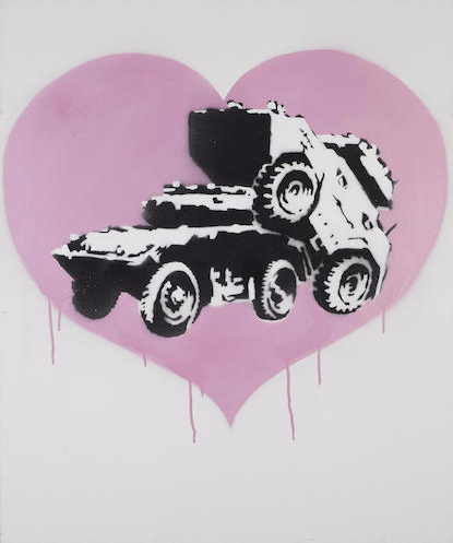 Banksy-Every Time I Make Love to you I Think of Someone Else-2002
