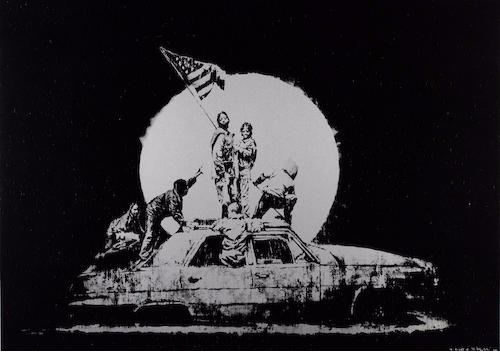 Banksy-Flag-2006