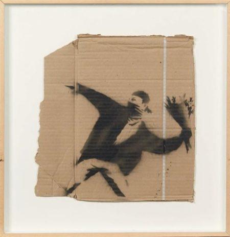 Banksy-Flower Power-2003