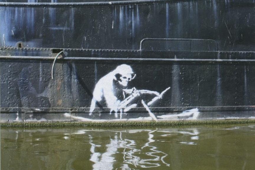 Banksy - Grim Reaper, Bristol