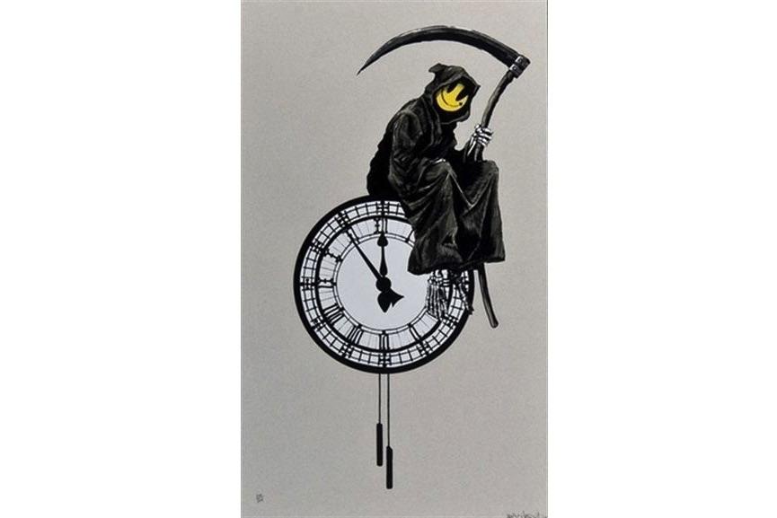 Banksy - Grin Reaper, 2005