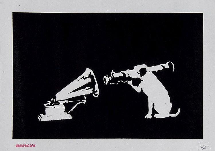 Banksy-HMV Dog-2003