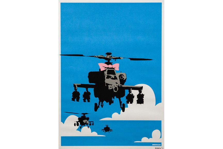 Banksy - Happy Choppers