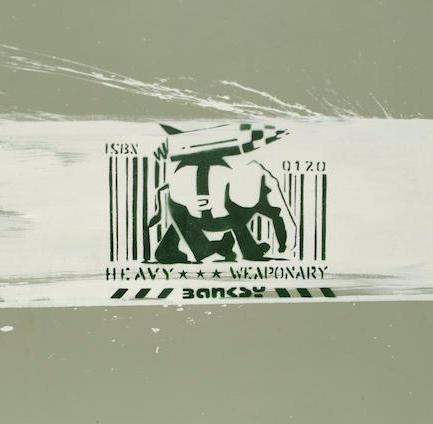 Banksy-Heavy Weaponry-2000