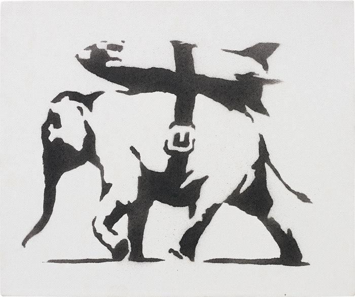 Banksy-Heavy Weaponry-2003