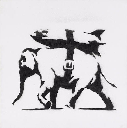 Banksy-Heavy Weaponry-2004