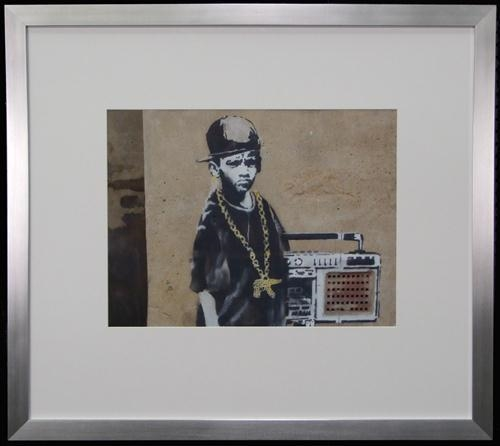 Banksy-Hip Hop boy-