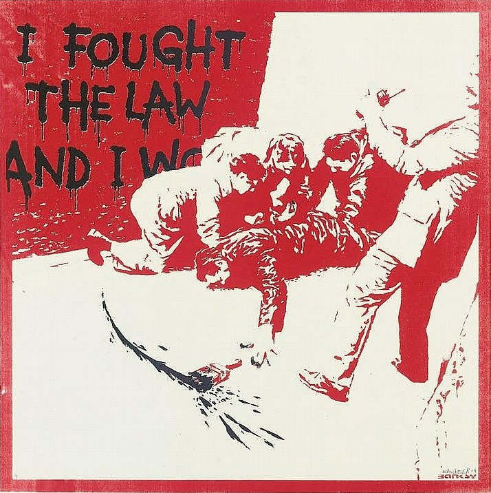 Banksy-I Fought the Law-2004