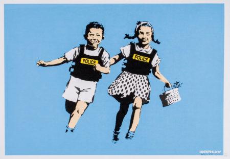Banksy-Jack And Jill (Police Kids)-2005
