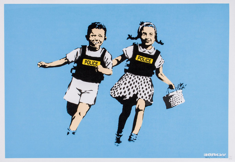 Banksy-Jack And Jill (Police Kids)-2005