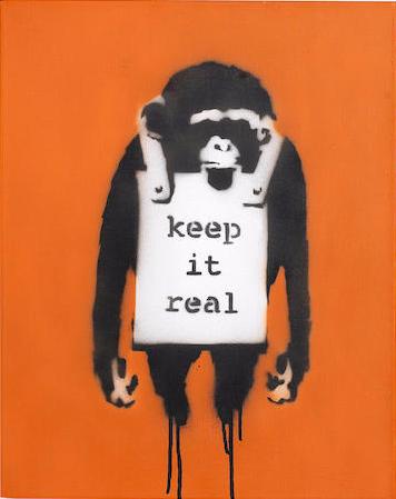 Banksy-Keep It Real-2002