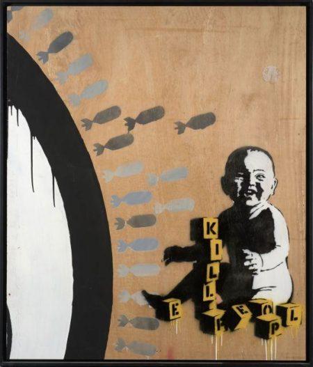 Banksy-Kill People-2003