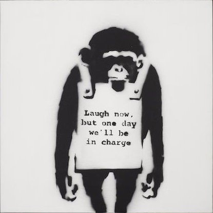 Banksy-Laugh Now-2002