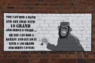 Did Banksy Just Burn His Own Thieves with a New Mural in Liverpool?
