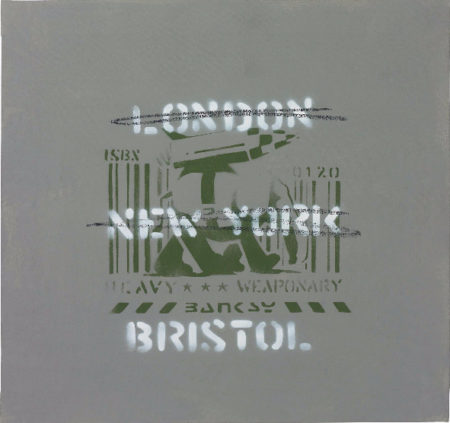 Banksy-London, New York, Bristol (Heavy Weaponry)-2003