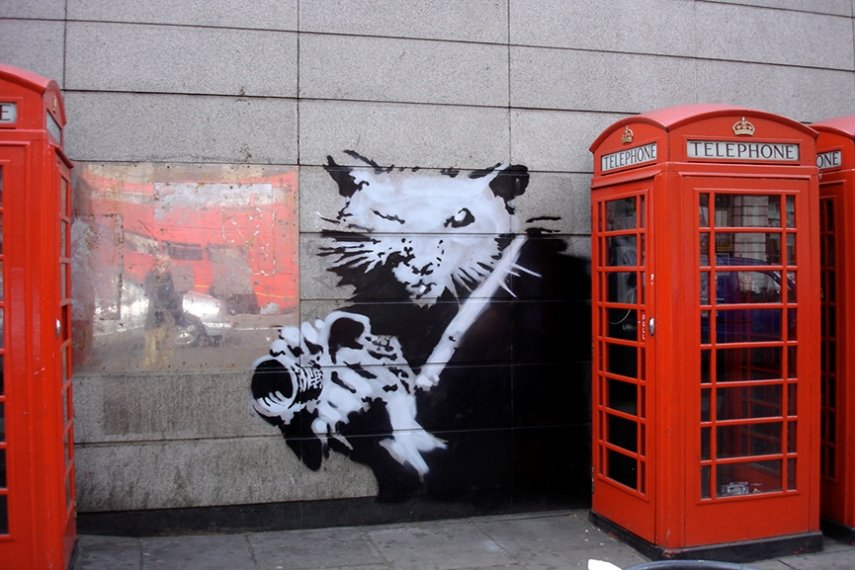 Did Banksy Disappear Again? Where is Our Fave Street Art Renegade?