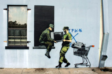 Another Banksy Mural Gets Restored - This Time in New Orleans