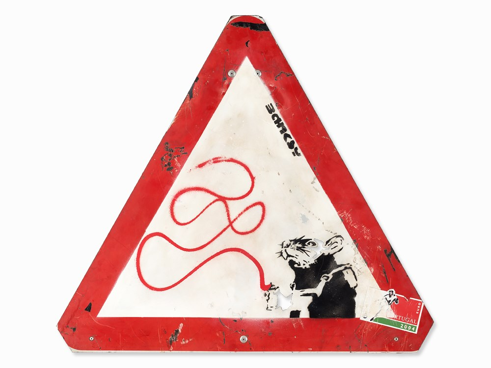 Banksy-Louis Sign GB-2004