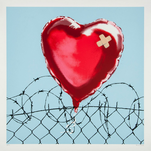 Banksy-Love Hurts-2012