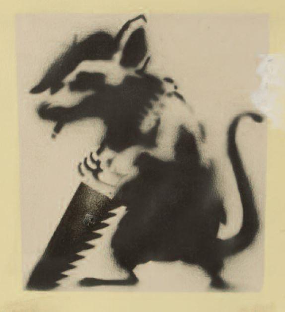 Banksy-Menace Rat-2002