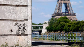 Banksy Paris 2018