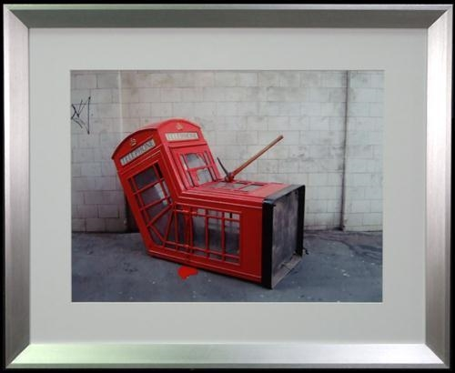 Banksy-Phone Booth-
