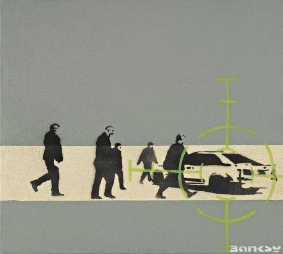 Banksy-Precision Bombing-2000