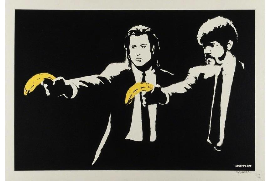 Banksy - Pulp Fiction, 2004