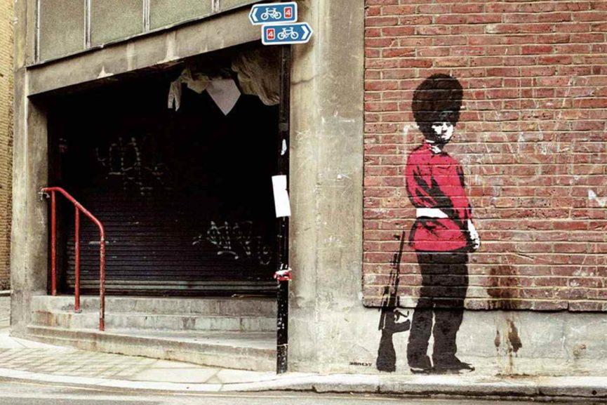 Banksy - Queen's Guard