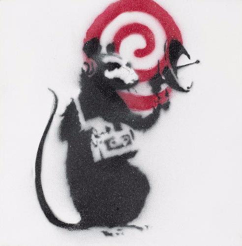Banksy-Radar Rat-2002