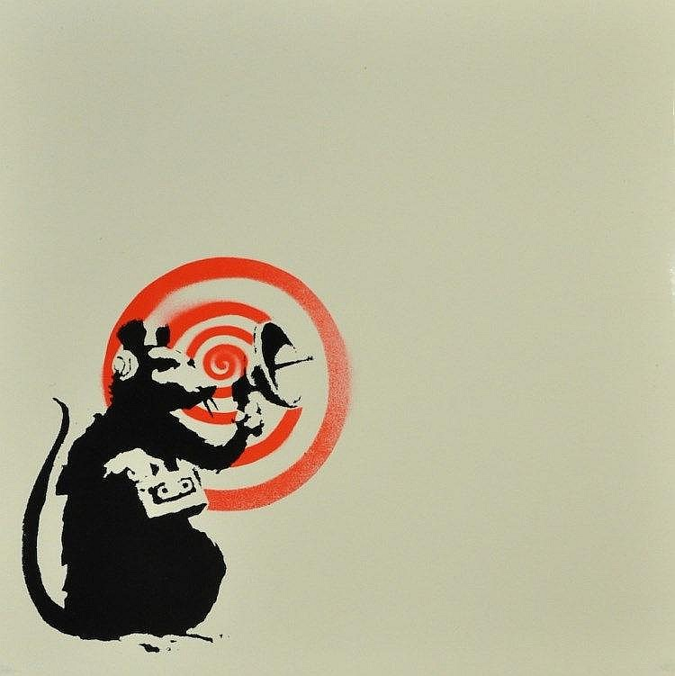 Banksy-Radar Rat-