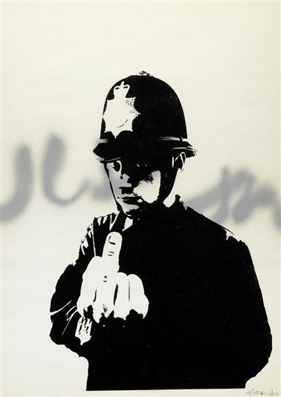 Banksy-Rude Copper-2002