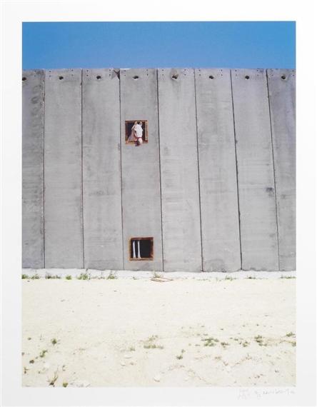 Banksy-Separation Wall, Horse Box-2006
