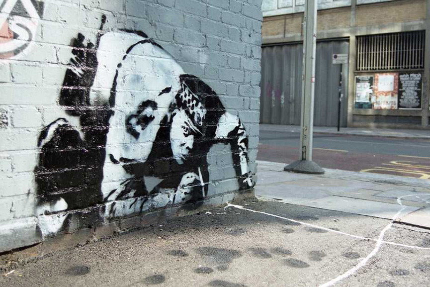 Banksy - Snorting Copper